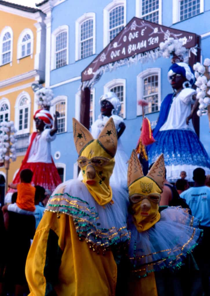 Costumes from carnaval in Bahia. © J.Freitas-Saltur