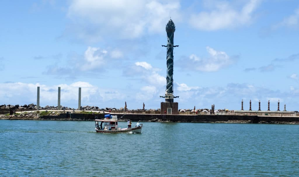 Recife is often called the Venice of Brazil because of its many waterways.