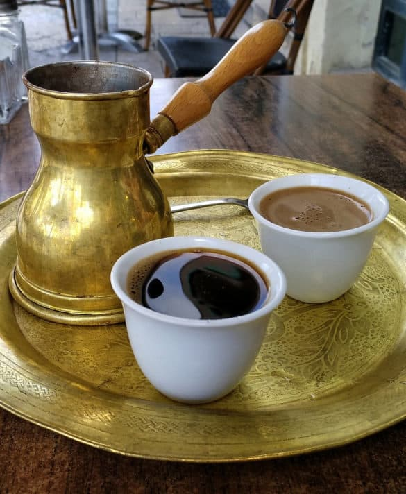The coffee in Bosnia will keep you on your toes.