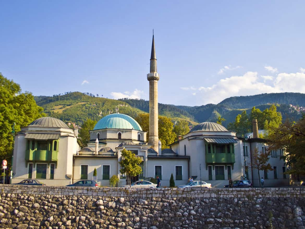The Emperor's Mosque is Sarajevo's oldest mosque.