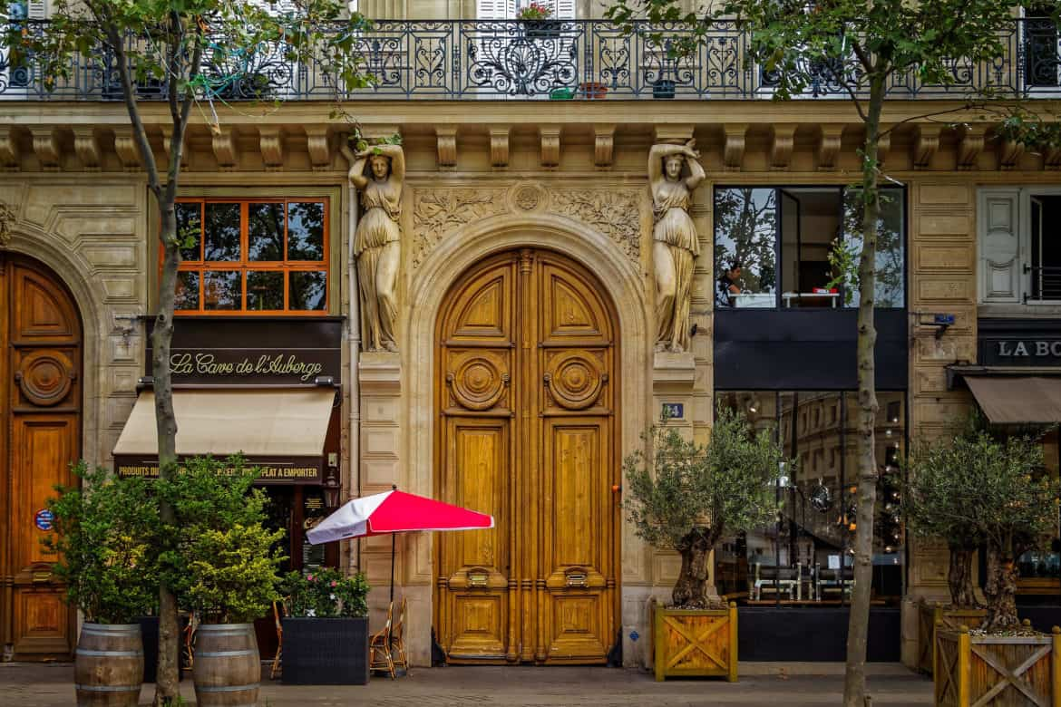 Paris' streetscapes conjure romance.