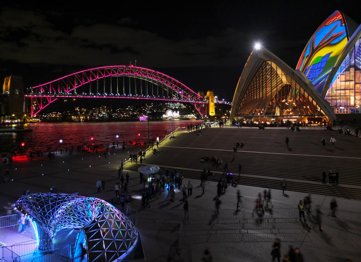 The Harbour Bridge and Opera House give Sydney that special razzle dazzle.